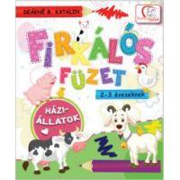 Firkálós füzet 2-3 éveseknek