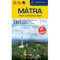 Mátra 3in1 turista- és kerékpáros térkép