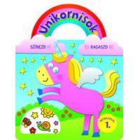 Unikornisok - Színezd ki és ragaszd be matricákkal 1.