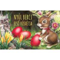 Nyúl Berci első húsvétja