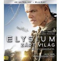Elysium - Zárt világ (4K UHD + Blu-ray)