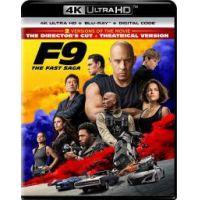 Halálos iramban 9 - Rendezői változat + moziverzió (4K Ultra HD Blu-ray + Blu-ray)