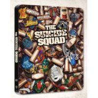 The Suicide Squad – Az öngyilkos osztag (4K UHD Blu-ray + DVD) - limitált, fémdobozos  változat (steelbook)