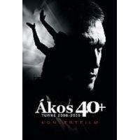 Ákos - 40+Turné 2008-2009 koncertalbum (DVD)