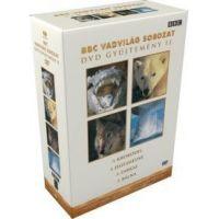 BBC Vadvilág sorozat 2. (Krokodil, Jegesmedve, Farkas, Bálna) (4 DVD)