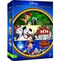 Disney klasszikusok gyűjtemény 1. *Bambi, 101 kiskutya, Pinokkió* (3 DVD)