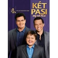 Két pasi, meg egy kicsi - 4. évad (4 DVD)