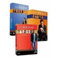 Doktor House csomag - 1-3. évad (18 DVD)