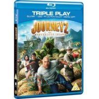 Utazás a rejtélyes szigetre (Blu-ray)
