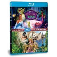 A hercegnő és a béka / Aranyhaj és a nagy gubanc (2 Blu-ray) (Twinpack)