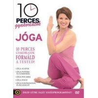 10 perces gyakorlatok: Jóga (DVD)