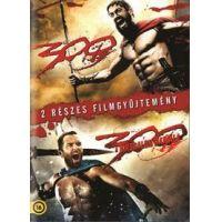 300 / 300: A birodalom hajnala (2 DVD) (Twinpack)