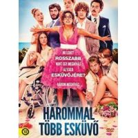 Hárommal több esküvő (DVD)
