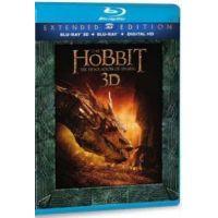 A hobbit: Smaug pusztasága - bővített, extra változat (2 BD3D + 3 Blu-ray)