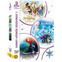 Disney hősnők díszdoboz 2. (Disney varázslatos karácsonya-sorozat) (3 DVD)