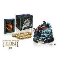 A hobbit: Smaug pusztasága - bővített, extra változat (2 BD3D + 3 BD) - limitált, ajándékdobozos változat