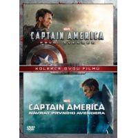 Amerika Kapitány gyűjtemény (Amerika Kapitány 1-2.) (2 DVD)