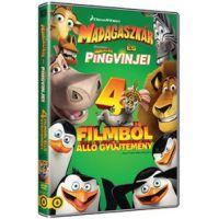 Madagaszkár gyűjtemény (4 DVD)