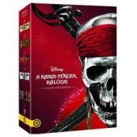 A Karib-tenger kalózai gyűjtemény (új kiadás) (4 DVD)