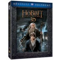 A hobbit: Az öt sereg csatája - bővített, extra változat (2 BD 3D+3 Blu-ray) *21783*