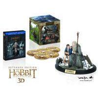 A hobbit: Az öt sereg csatája - bővített, extra változat (2 Blu-ray 3D+3 Blu-ray) - limitált, ajándékdobozos változat