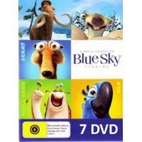 Blue Sky stúdió animációs filmgyűjtemény (7 DVD) *Rio 1-2, Jégkorszak 1-4, Zöld urai*
