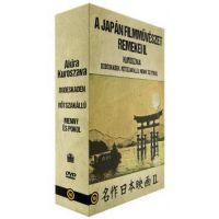 A japán filmművészet remekei II. gyűjtemény (Kuroszava) (3 DVD)