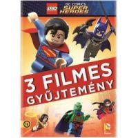 Lego DC Szuperhős gyűjtemény (3 DVD)