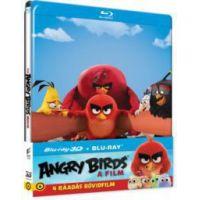 Angry Birds: A film - limitált, fémdobozos változat (steelbook) (BD3D+BD) (Blu-Ray)