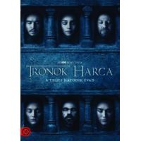 Trónok harca 6. évad (5 DVD)