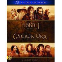 Középfölde gyűjtemény (6 Blu-ray) - Hobbit és Gyűrűk Ura trilógia