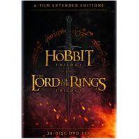 Középfölde bővített gyűjtemény (36 DVD) - Hobbit és Gyűrűk Ura bővített trilógia