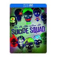 Suicide Squad - Öngyilkos osztag (3D Blu-ray) *Steelbook*