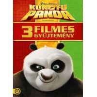 Kung Fu Panda - 3 filmes gyűjtemény (3 DVD)