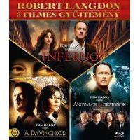 Robert Langdon 3 filmes gyűjtemény (Blu-Ray)