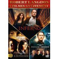Robert Langdon 3 filmes gyűjtemény (DVD)