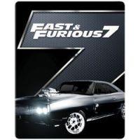 FF7: Halálos iramban 7. (mozi- és bővített változat) - limitált, 2017-es fémdobozos változat (steelbook) (Blu-Ray)