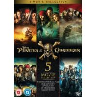 A Karib-tenger kalózai 1-5 DVD gyűjtemény (5 DVD)
