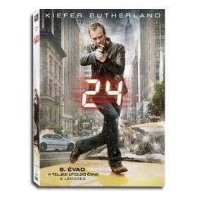 24 - Nyolcadik évad -Utolsó évad (DVD)