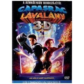 Cápasrác és Lávalány 3D (DVD)