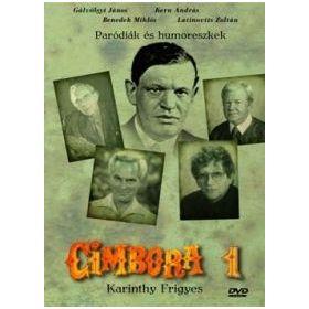 Cimbora 1.- Karinthy Frigyes (DVD)
