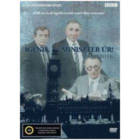 Igenis, Miniszter Úr! 3. évad (DVD)