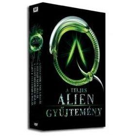 Alien - A teljes gyűjtemény 1-4. (Quadriolgy - Díszdobozos) (9 DVD)