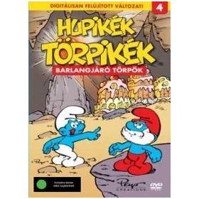 Hupikék törpikék 4. - Barlangjáró törpök (DVD)