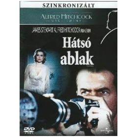 Hátsó ablak -Alfred Hitchcock (DVD)