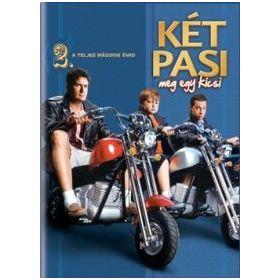 Két pasi, meg egy kicsi - 2. évad (4 DVD)