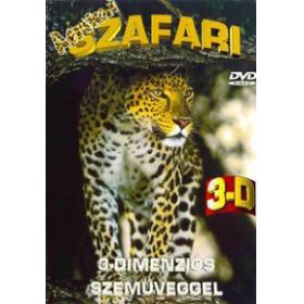Afrikai szafari 3D (DVD)