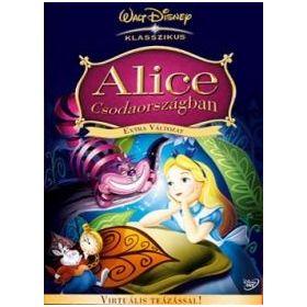 Alice Csodaországban *Disney - Extra változat* (DVD)