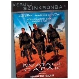 Sivatagi cápák (DVD)