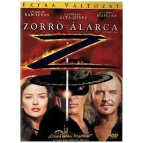 Zorro álarca (DVD)